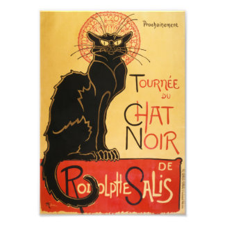 Le Chat Noir Print Photo Art