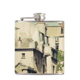 Le Marais in Paris, France, Idyllic Architecture Flasks