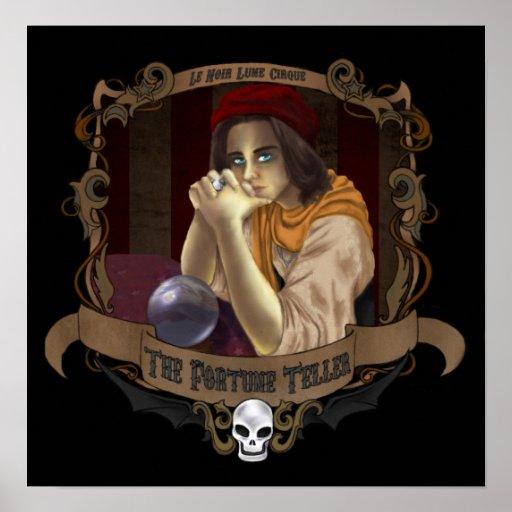 Le Noir Lune Cirque - The Fortune Teller Poster