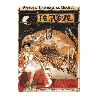 Le Reve Ballet Performance Opera House Canvas Print
