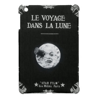 Le Voyage dans la Lune or A Trip to the Moon Retro Cover For The iPad Mini
