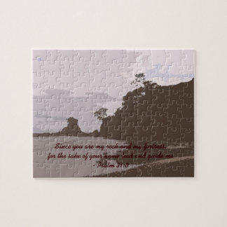 Lead and Guide Me - Psalm 31:3 Jigsaw Puzzle