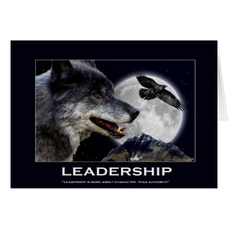 Leadership Motivational Gifts Card
