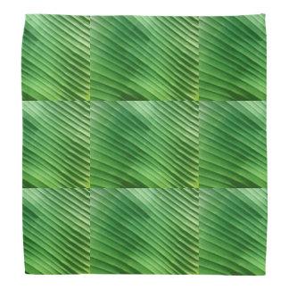 Leaf Green Diagonal Bandana