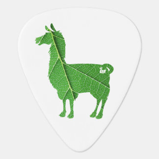 Leaf Llama Guitar Pick
