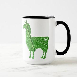 Leaf Llama Mug