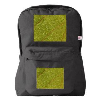 Leaf Macro American Apparel Backpack