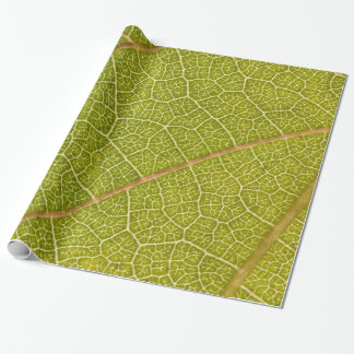 Leaf Macro Wrapping Paper