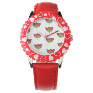 Leaf Print Watch