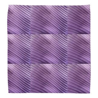 Leaf Purple Diagonal Bandana