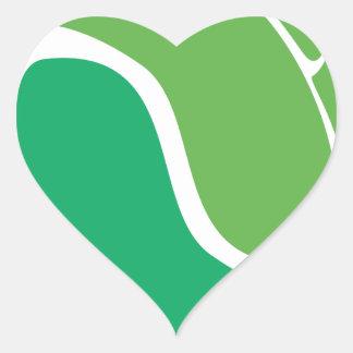 Leaf Yin Yang Heart Stickers
