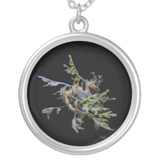 leafy-backside2 round pendant necklace