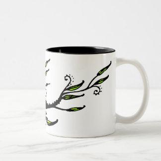 Leafy Two-Tone Mug