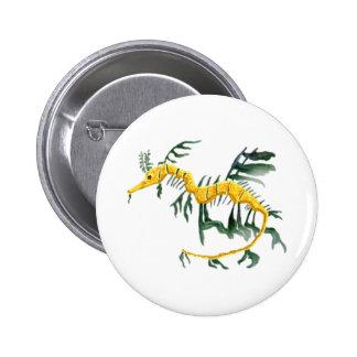 Leafy Sea Dragon 6 Cm Round Badge