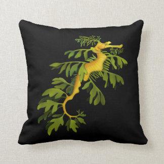 Leafy Sea Dragon Art Pillow