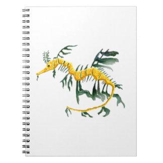 Leafy Sea Dragon Spiral Notebooks