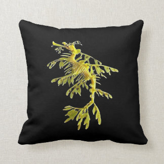 Leafy Sea Dragon Sea Horse on Pillow