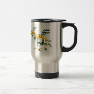 Leafy Sea Dragon Stainless Steel Travel Mug