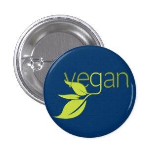 Leafy Vegan 3 Cm Round Badge