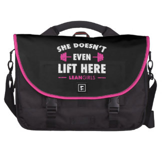 Lean Girls She Doesn't Even Lift Here Commuter Bags
