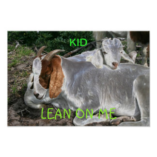lean on me posters