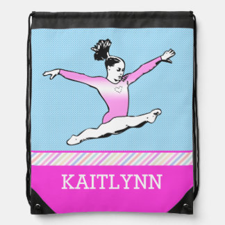 Leaping Gymnast Backpack