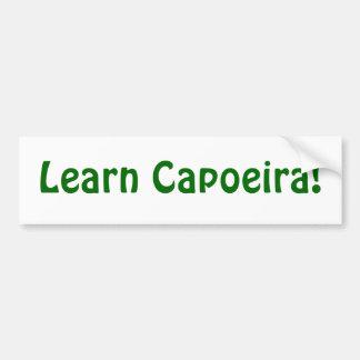 Learn Capoeira! Bumper Sticker