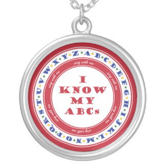 Learn the Alphabet Necklace