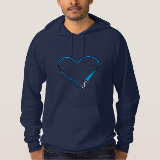 Leashed Heart Pullover Hoodie