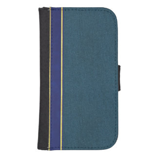 Leather and Suede Textured Wallet Style Case