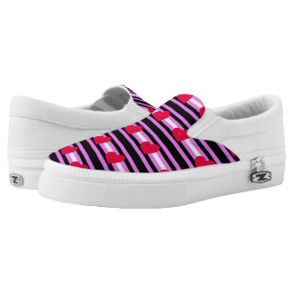 Leather Girl Pride Slip On Shoes