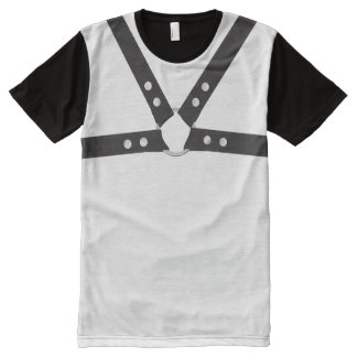 Leather Harness t-shirt All-Over Print T-Shirt