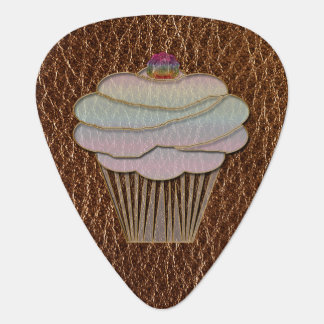 Leather-Look Baking Plectrum