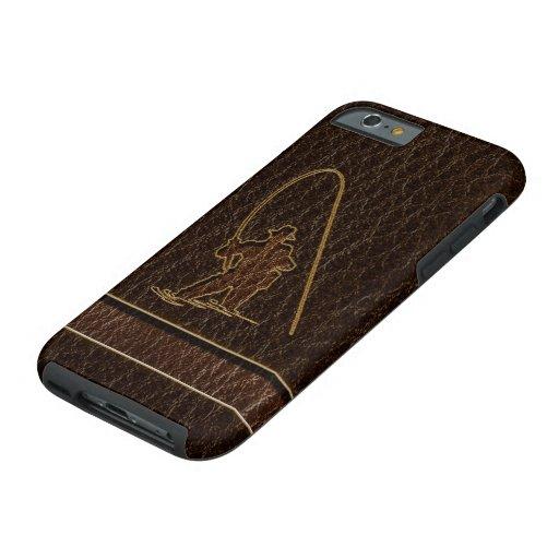 Leather-Look Fisherman Dark iPhone 6 Case