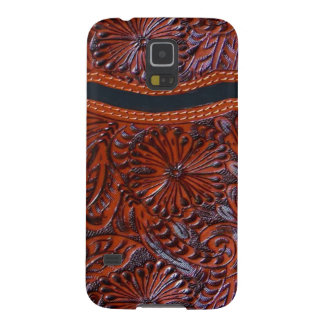 leather look western phone case