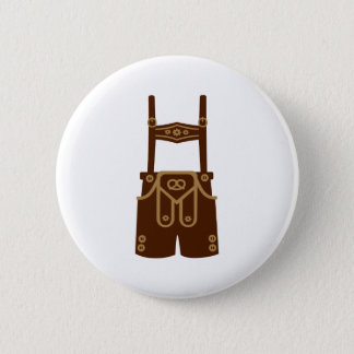 Leather trousers bavaria Oktoberfest 6 Cm Round Badge