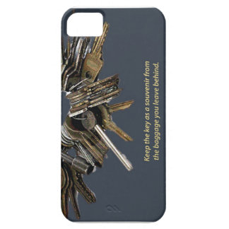 Leave behind the baggage, keep the key! iPhone 5 cover