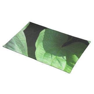 Leaves Closeup in Light and Shadow Placemat