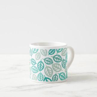 Leaves Espresso Mug