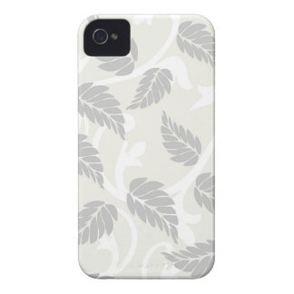 Leaves & Swirls Neutral iPhone 4 Case-Mate Cases