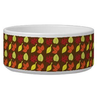 Leaves You Falling Pet Food Bowls