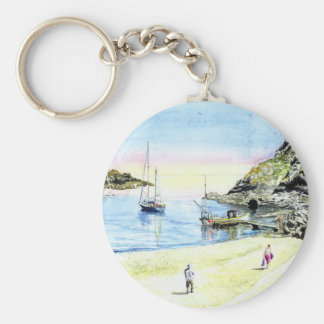 'Leaving at Low-tide' Keychain