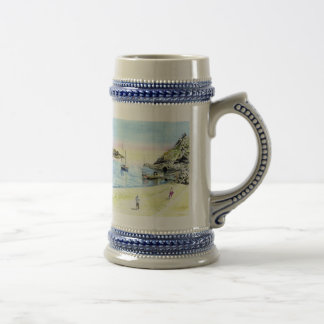'Leaving at Low-tide' Stein 18 Oz Beer Stein