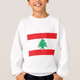 Lebanese Flag - Flag of Lebanon علم لبنان Sweatshirt