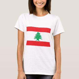 Lebanese Flag - Flag of Lebanon علم لبنان T-Shirt