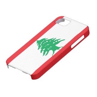 Lebanon Flag Barely There iPhone 5 Case