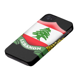 Lebanon Flag iPhone 4/4S Case-Mate Barely There