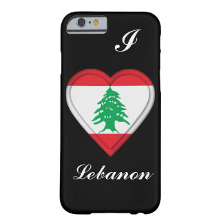 Lebanon Lebanese flag Barely There iPhone 6 Case