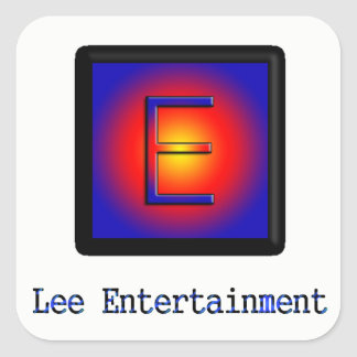 Lee Entertainment Sticker