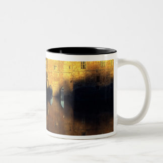 Leeds Castle, 12th c., Norman stronghold and Two-Tone Coffee Mug